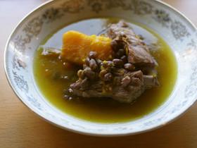 【薬膳レシピ】小豆とカボチャの煮込み