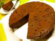 ♪炊飯器で♪大人のチョコレートケーキ♪の写真