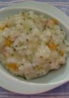 *離乳食中期*白身魚と野菜のリゾット
