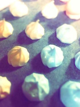 バレンタイン♥超簡単メレンゲクッキー