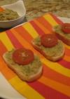 ヒヨコ豆とオリーブのパテ・ディップ