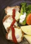 豚ヒレ肉のパン粉焼き
