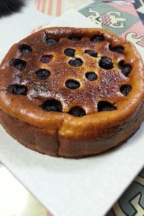 クリチで簡単☆基本のベイクドチーズケーキ