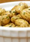 給食再現節分豆消費に 無限のり塩バター豆