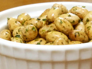 給食再現節分豆消費に 無限のり塩バター豆の写真