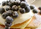 ふわもち!!チーズクリームのパンケーキ