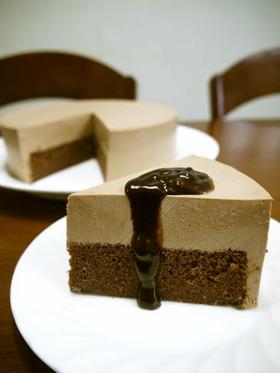 絶品!チョコレートムースケーキ♪
