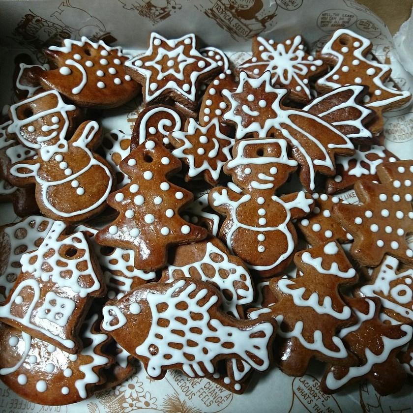 チェコのジンジャーブレッドクッキー