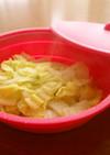 スチーマーで簡単ひとりぶん♪白菜ミルク煮