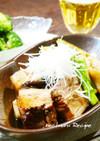 あっさり美味☆黒酢で煮込む『豚の角煮』