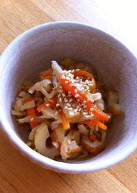 麺つゆで♪美味しい簡単切り干し大根煮物