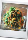 菜の花のビタミンたっぷりな温サラダ