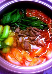 自家製‼キムチ鍋