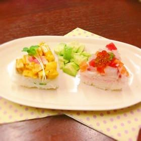 ひな祭りに!子どもと作る簡単押し寿司♪