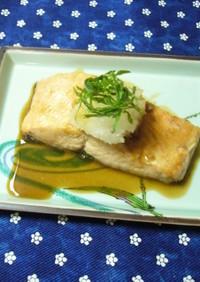 鮭のソテー❀和風ソース