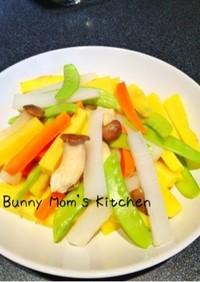 食べやすくてかわいい♡スティック温野菜