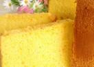 素朴で優しいかぼちゃのシフォンケーキ