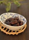 圧力鍋で簡単♪紫花豆煮。