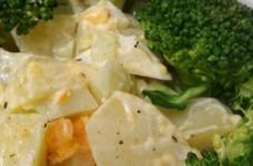 ブロッコリーじゃがいもゆで卵のサラダ