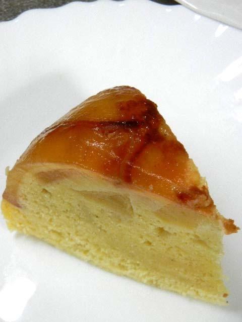 炊飯器でリンゴのケーキ(HM使用)