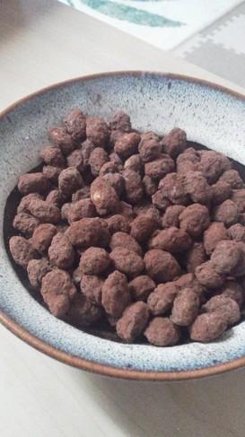節分豆バレンタインにアマンドショコラ風