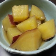サツマイモの甘辛ほっこり煮♥