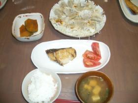 8月1日の夕食