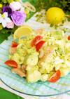 春キャベツとアボカドのサラダ