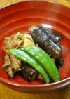 常備菜☆茄子と豚肉のショウガ風味甘辛炒め
