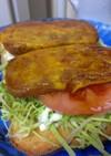 完熟トマトのランチョントースト