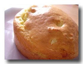 西インド諸島の素朴なパイナップルケーキ