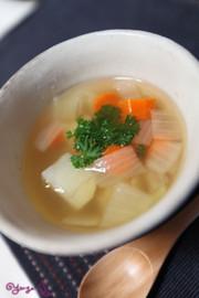 忙しい朝にも!簡単*和風スープの写真