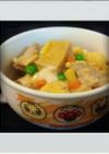 ■糖質制限■鶏肉高野豆腐卵とじ簡単ランチ