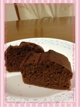 HM☆ヨーグルトでしっとり生チョコケーキ