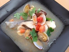 白身魚の簡単アクアパッツア