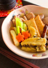 生麩と鶏肉のとろ~り生姜あんかけ煮