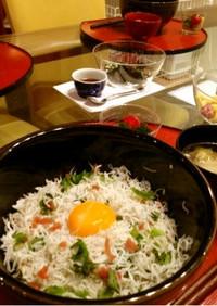 湘南名物「しらす丼」簡単カルシウム補給