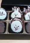 LINEキャラでチョコレート