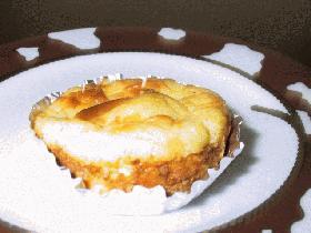 小さなブルーベリー・チーズケーキ
