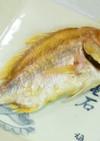 オーブンで簡単☆尾頭付き鯛の姿焼
