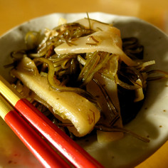おばぁ直伝沖縄料理♪「クーブイリチー」