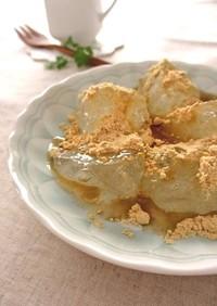 片栗粉でつくる…ふるふる♪わらび餅