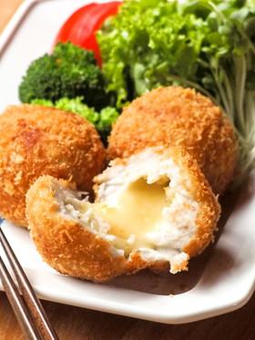 とろ~りチーズの里芋コロッケ