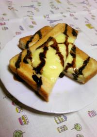 チョコチーズトースト☆