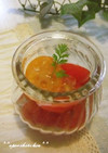 金柑とトマトのサラダ~ゆずシロップ~