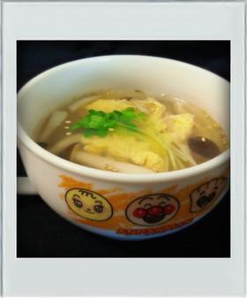 ■糖質制限■しめじ卵スープ☆簡単朝ランチ