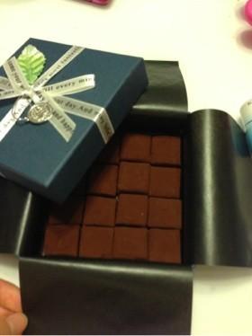 材料5つで!簡単☆濃厚生チョコ!