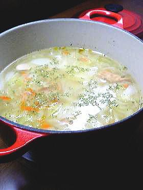 我が家の基本の野菜スープ