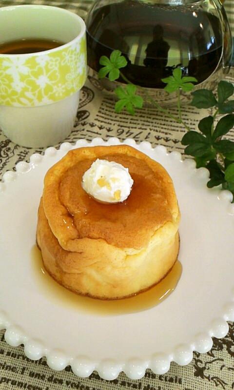 スフレパンケーキ