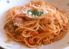 お鍋ひとつで簡単ナポリタンスパゲティ